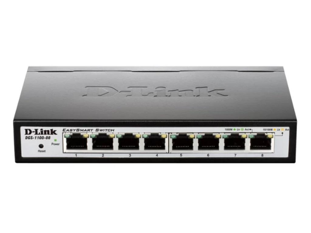 8 Port 10 100 1000mbps Poe Easy Smart D Link Dgs 1100 08p Tp Switch 1000 Mbps Gigabit Sg1024d 24