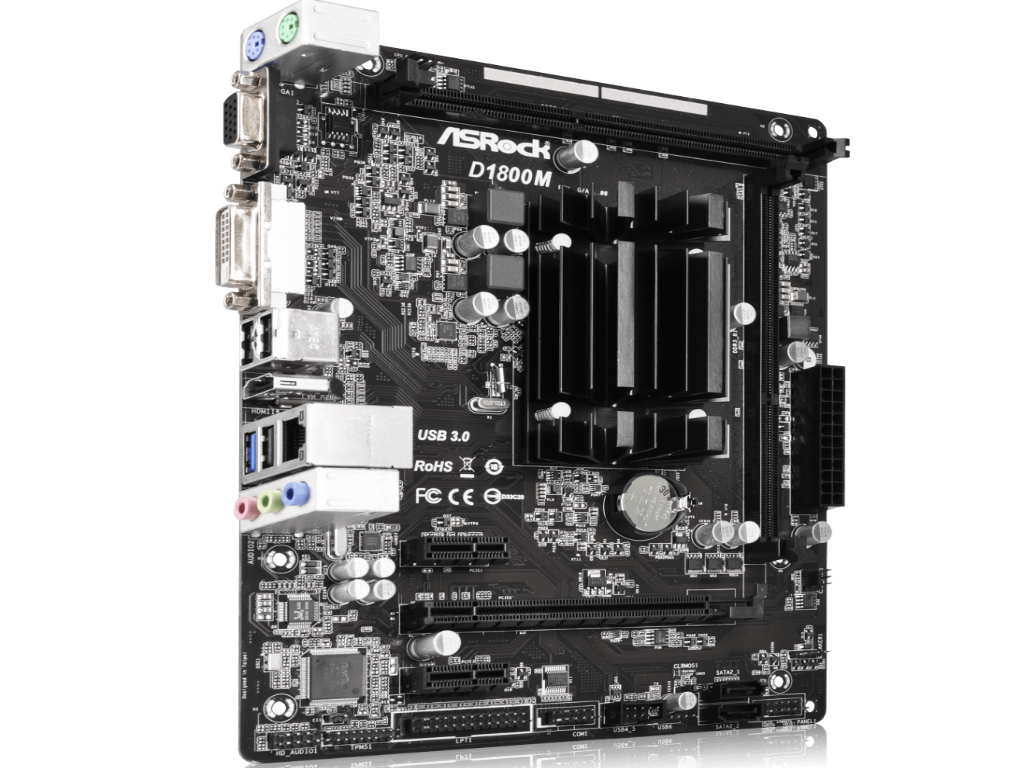 ASRock D1800M Driver Download (2019)