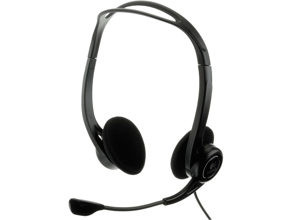 ATEHNO - Logitech PC Stereo Headset 960 USB, Headset: 20