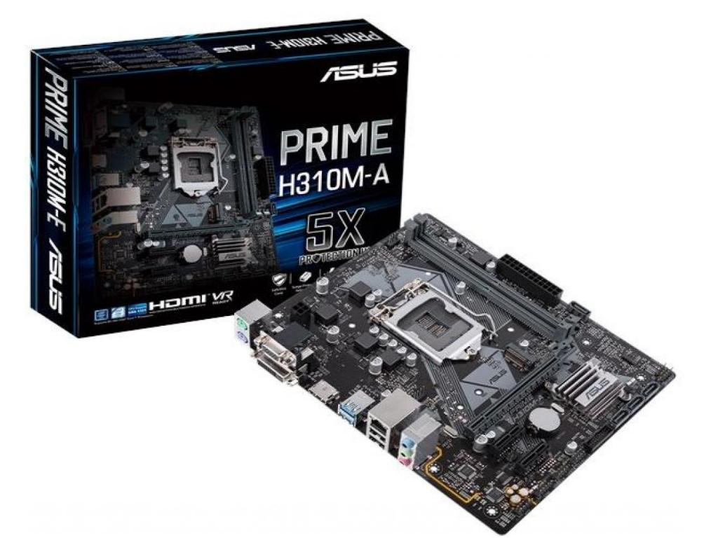 MB S1151 Asus PRIME H310M-A (Intel H310, mATX), Designed
