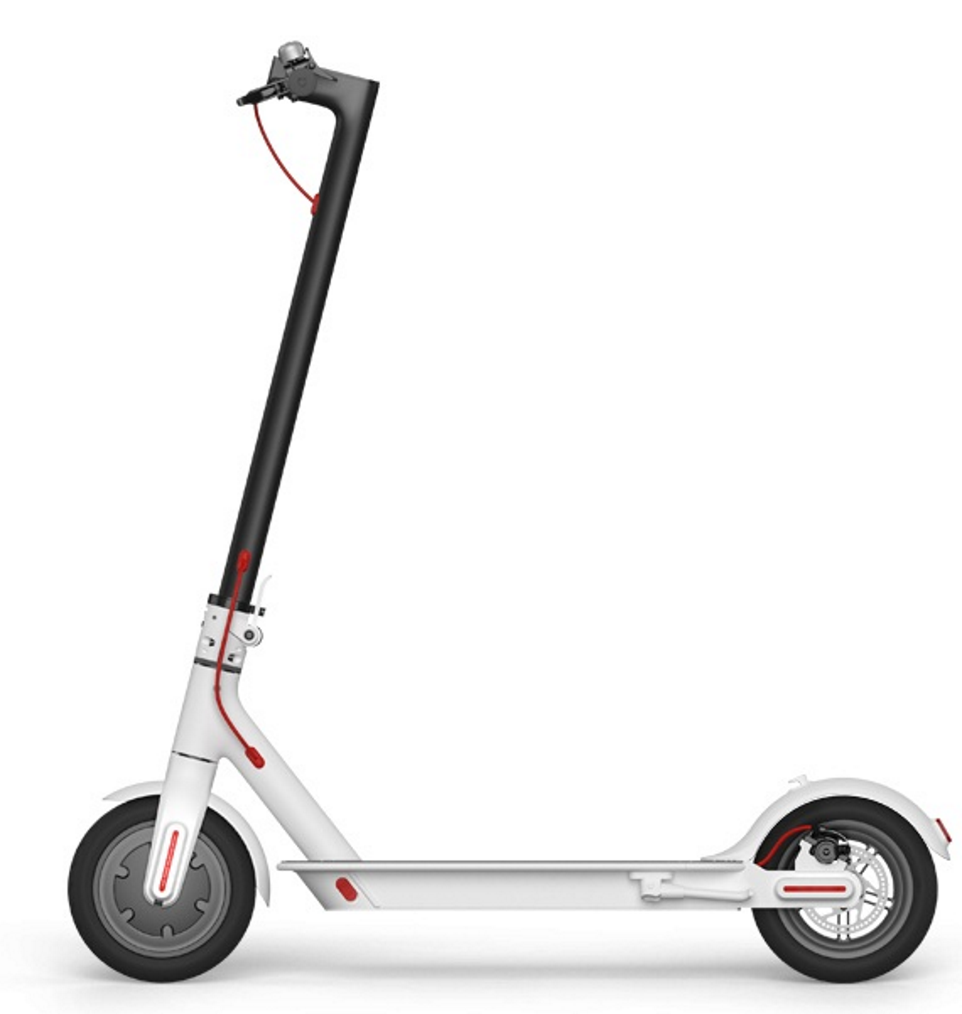Xiaomi Mi Electronic Scooter White Folding Ninebot Mini Self Balancing Black Aluminum Alloy Max Speed 25km H Battery Capacity35km In A Single Charge Weight 125kg
